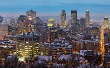 Photo de Montréal sous la neige